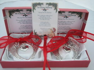 REMEMBERING YOUR FAMILY LOVED ONE AT CHRISTMAS BEREAVEMENT HANGING DECORATION