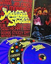 The Midnight Special 3 DVD SET LIVE,Heart,Santana,Jim Croce,Aretha Franklin