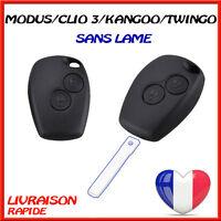 COQUE CLE TÉLÉCOMMANDE BOÎTIER RENAULT CLIO 3 MODUS TWINGO 2 MASTER KANGOO
