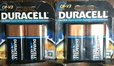 DURACELL CR-3V Ultra Camera Battery - 2 Pack 4 Batteries Total. 2021 Expiration