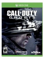 XBOX ONE GAME CALL OF DUTY GHOSTS COD BRAND NEW & FACTORY SEALED