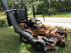 """Scag Saber Tooth Tiger 72"""" 31HP Turbo Diesel Commercial Mower + Vac System!"""