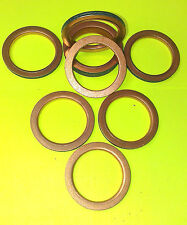 COPPER EXHAUST GASKETS SEAL MANIFOLD GASKET RING ZX9R B ONLY Z1100 KZ1100 ZX9ff2