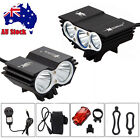 12000LM 3X 2x XML-U2 LED Front Bicycle Light Bike Lamp Head Rechargeable 4*18650