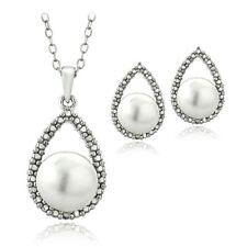 White Not Enhanced Fine Jewellery Sets
