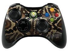 Snake Skin Xbox 360 Control Remoto controller/gamepad Skin / Cover / Vinilo Wrap Xbr9