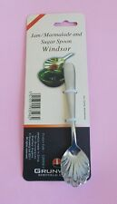 2 x Jam / Marmalade / Sugar Stainless Steel Spoons New