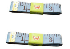 "Blue Body Measuring Ruler Sewing Tailor Tape Measure Soft Flat 60"" /150cm"