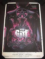 THE GATE Limited Edition Screen Print Poster Matt Ryan Tobin Mondo artist x/125