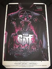 THE GATE Limited Edition Screen Print Poster Matt Ryan Tobin Mondo artist x/125