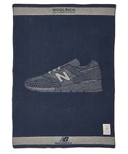 "Woolrich John Rich & Bros. x New Balance 46""x70"" Wool Blanket Made in USA $300"