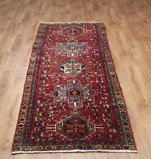 OLD WOOL HAND MADE PERSIAN ORIENTAL FLORAL RUNNER AREA RUG CARPET 260x85CM