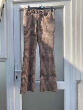 Vintage 1970s Plaid Trousers