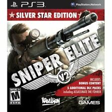 Sniper Elite V2 Silver Star Edition Sony PS3 Playstation 3 War Shooter Game
