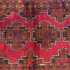 Handmade Afghan Kazakh Tribal Accent Rug,100% Soft Camel Hair, Natural Dyes, 4x6