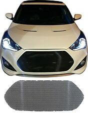 CCG BLACK PERF SS MESH GRILL GRILLE INSERT FOR A 2012-17 HYUNDAI VELOSTER TURBO