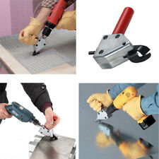 Sheet Metal Cutter Impact Ready Shears Attachment Power Electric Drill SS0613