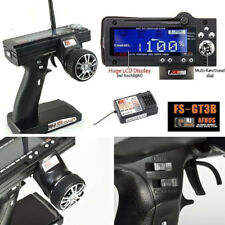 Flysky FS-GT3B 2.4G 3CH Transmitter + Receiver Radio Control for RC Car Boat NEW