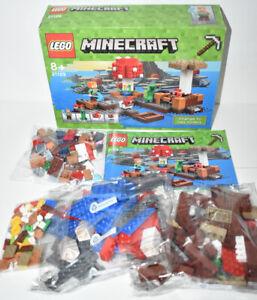 Lego Minecraft The Mushroom Island 21129 Retired Set SEALED CONTENTS Free Post