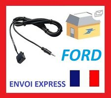 PARA CABLE JACK MP3 AUTORRADIO FORD C-MAX MONDEO S-MAX 6000CD 6000 CDC 5000C