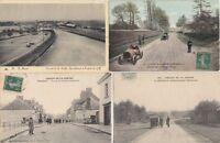 CAR RACING CIRCUIT FRANCE 32 Vintage Postcards postcards incl. Gordon Bennett