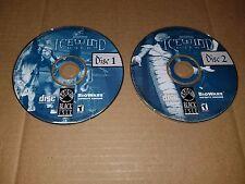 Icewind Dale Drizzt D&D Forgotten Realms CD-ROM Black Isle Bioware Game 2000