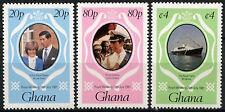Ghana 1981 SG#948-950 Royal Wedding MNH Set #R112
