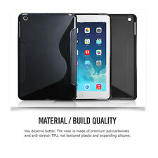 S Type Rubber Ultra Thin Bumper Case Frame Cover For Apple iPad Air 1/ iPad 5