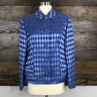 Vintage Gianni Versace Versatile Couture Silk Italian Size 44L US Size 8 Italy