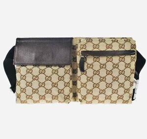 GUCCI Monogram GG Fanny Pack Belt Bag / M310-21147