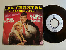 "IDA CHANTAL & RAYMOND JOLY : Sketches patoisants 7"" SP 45T French DEESSE DPX 816"
