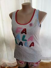 Peter Alexander be DAGGY this XMAS PJ Pyjamas TOP size XL 16 NEW FA LALA LALA
