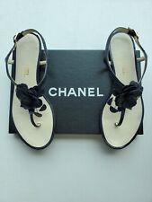 CHANEL Flower Camellia Sandal Size 7