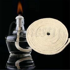 1M Long Round Cotton Wick Burner For Oil Kerosene Alcohol Lamp Torch Wine Bottle
