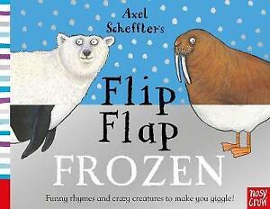 Axel Scheffler's Flip Flap Frozen | Board Book | Brand NEW