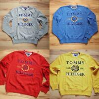 NWT Men's Tommy Hilfiger  Crew Neck Pullover Sweater Sweatshirt S-L