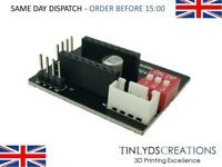 A4988 / DRV8825 3D Printer Stepper Motor Control Extension Board Ramps 1.4 Black