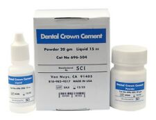 Dental Crown Adhesive by SCI - Permanent Glass Ionomer Orthodontic Dental Cement
