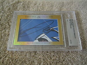 Sergio Garcia 2015 Leaf Masterpiece Cut Signature signed autograph card 1/1 JSA