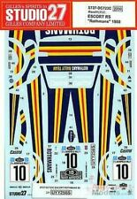 1/24 1980 Rothmans Ford RS Escort Mk.II Vatanen / Richards Studio 27 decal