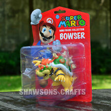 "SUPER MARIO BROTHERS TOYS DOLL 3.5"" KOOPA BOWSER FIGURE"