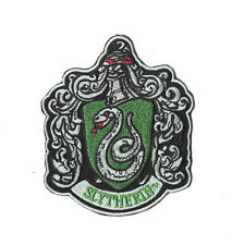 SLYTHERIN CREST Iron on / Sew on Patch Embroidered Badge Harry Potter PT249