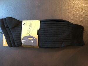 Men Ribbed Socks, 3 pack