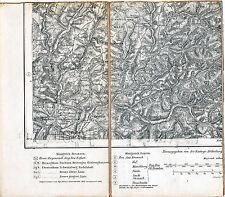 Wallenfels Wilhelmsthal Friesen 1904 orig. Teilkarte /Ln. Dürrenwald Unterrodach