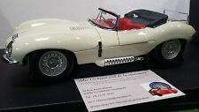 JAGUAR XK-SS 1956 crème cream 1/18 AUTOart 73512 voiture miniature de collection