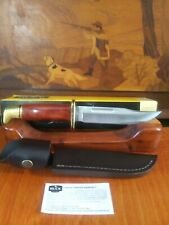 BUCK 119 SPECIAL COCOBOLO FIXED BLADE HUNTING KNIFE MADE IN USA FULL TANG