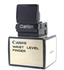 Canon Genuine Waist Level Finder for Old F-1, Boxed with Cap. UK Supplier