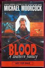 Michael Moorcock Blood – Advanced Reading Galley/Uncorrected proof  paperback