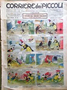 2 Riviste Corriere dei Piccoli 10 del 1941 - Domenica del Corriere 44 del 1912
