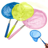 Kids Extendable Insect Butterfly Rod Net Mesh Pocket Children Fishing Fish Catch